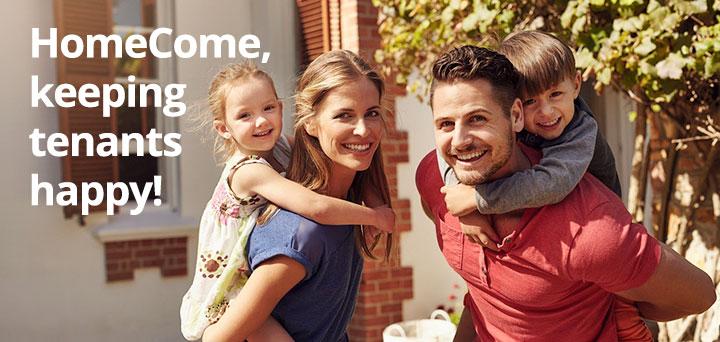 HomeCome, keeping tenants happy!